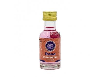 Růžová aromatická esence (Rose Flavouring Essence), HEERA 28ml