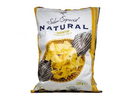 Tortilla Chips Natural, SABOR ESPECIAL 120g
