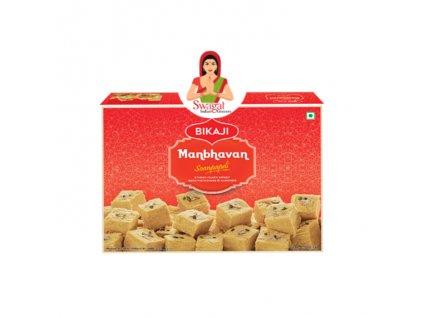 Indický dezert Manbhavan Soan Papdi, BIKAJI 200g