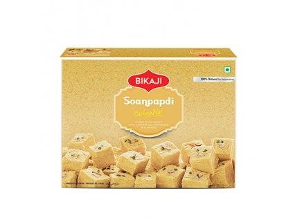 Indický dezert Soan Papdi Cashew Nut, BIKAJI 200g