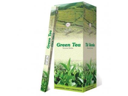 Vonné tyčinky Zelený čaj., FLUTE 20ks