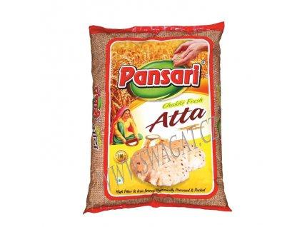 Chakki Fresh atta - celozrnná pšeničná mouka, PANSARI 1kg