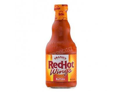 Ostrá omáčka Red Hot Wings Buffalo, FRANK´S 354 ml