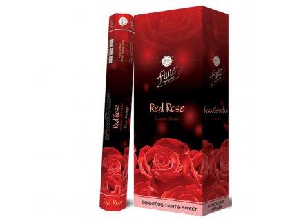 Vonné tyčinky Červená růže, FLUTE 20ks