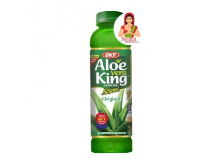Aloe Vera Drink Natural, OKF 500ml
