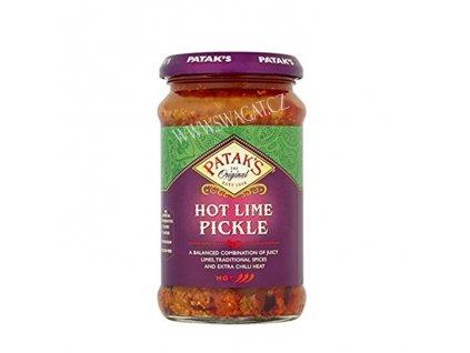 Naložená limetka pálivá (Lime Pickle Hot), PATAK`S  283g