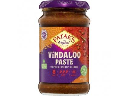 Bhuna pasta středně pálivá (Medium Spicy Bhuna Paste), PATAK`S 283g