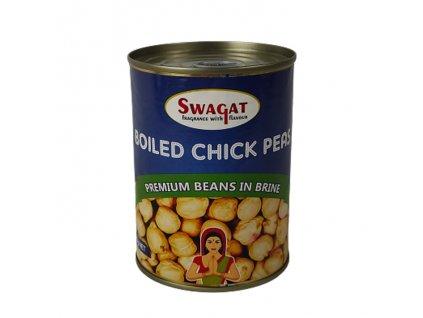 Konzervovaná cizrna ve slaném nálevu (Chick Peas in Tin), SWAGAT 400g