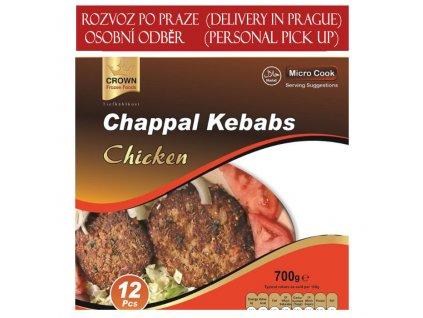 Kuřecí kebab, CROWN 700g (12ks)