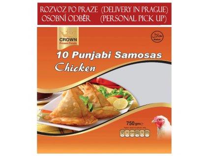 Pandžábská kuřecí samosa, CROWN 750g (10ks)