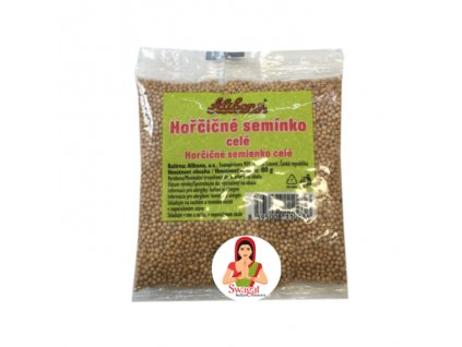 Hořčičné semínko celé (Mustard Seeds), 80g