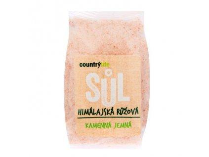 Růžová himalájská sůl jemná, COUNTRY LIFE 500g