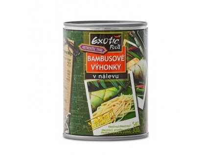 Nakládaný bambus (Bamboo Shoots in Brine), EXOTIC FOOD 565g