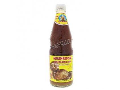 Houbová vegetariánská omáčka (Mushroom Vegetarian Sauce), HEALTHY BOY 300ml