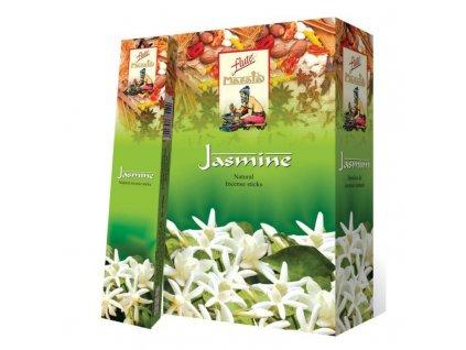 Vonné tyčinky Jasmín Masala (Jasmine Masala Incense Sticks), 15ks
