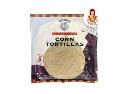 NUEVO PROGRESO Kukuřičné tortilly 12ks/ 181g