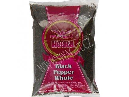 Pepř černý (Black Pepper Whole), HEERA 800g