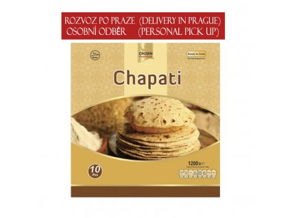 Chapati, CROWN 1200g (10ks)