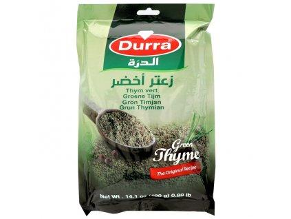 Směs koření Zátar zelený tymián (Green Thyme), DURRA 400g
