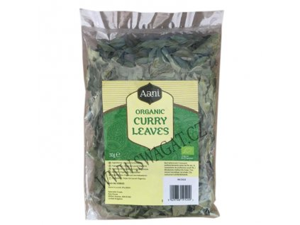 BIO Kari listy (Organic Curry Leaves), AANI 30g