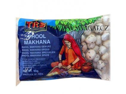 Phool Makhana – křupavé semena lotosu (Popped Lotus Seeds), TRS 50g