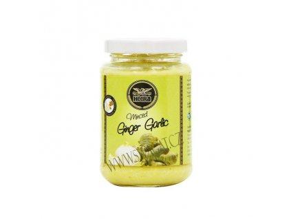 Zázvorovo-česneková pasta (Minced Ginger Garlic Paste), HEERA 210g