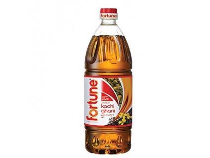 Kachi Ghani - čistý hořčičný olej (Pure Mustard Oil), FORTUNE 500m