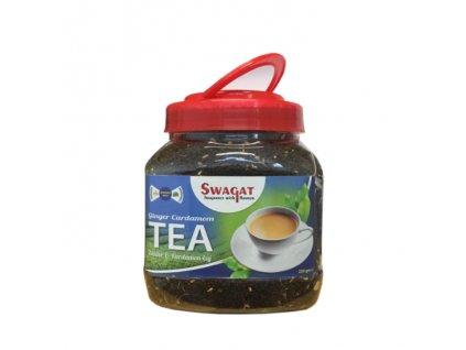 Černý čaj se zázvorem a kardamomem (Ginger Cardamom Black Tea), SWAGAT 250g