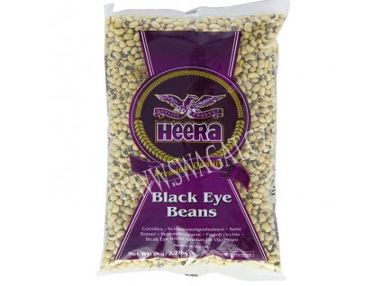 Black Eyed Beans - fazole Černé oko, HEERA 2kg
