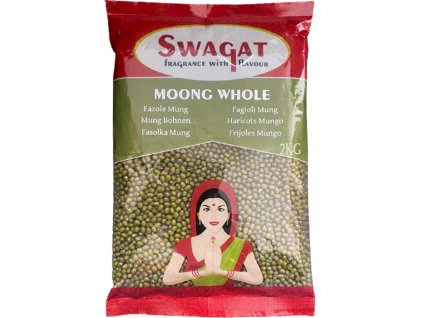 Fazole Mungo (Moong Beans), SWAGAT 2kg