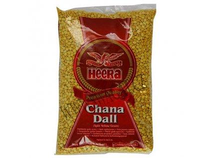 Chana Dall - žlutý hrách, HEERA 2Kg