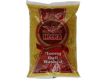 Moong Dall Washed - čočka Mung loupaná, HEERA 2Kg