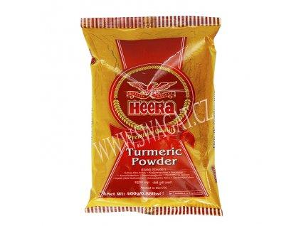 Mletá kurkuma (Turmeric Powder), HEERA 400g