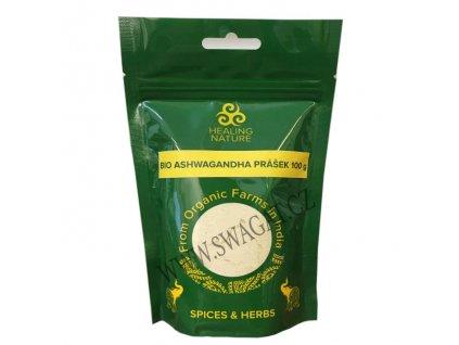 BIO Ašvaganda mletá (Organic Ashwagandha Powder), HEALING NATURE 100g
