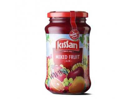 Ovocní džem (Mixed Fruit Jam), KISSAN 500g