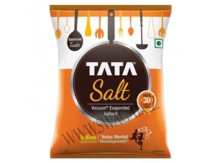 Sůl jedlá jodizovaná  (Iodized Salt), TATA 1kg