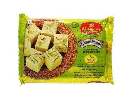 Indický dezert Soan Papdi, HALDIRAM'S 500g