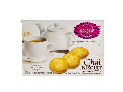 Čajové sušenky klasické  (Chai Biscuit), KARACHI BAKERY 400g