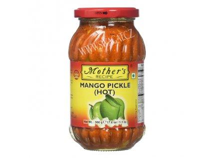 Nakládaný Mango ostrý (Mango Pickle Hot), 500g