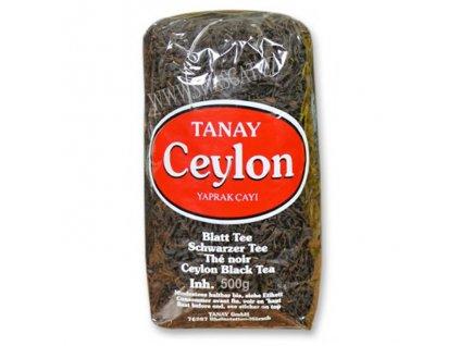 Turecký čaj listový (Ceylon Yaprak Cayi), TANAY 500g