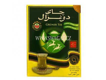 Čínský zelený listový čaj (Pure Chinese Green Leaf Tea), DO GHAZAL 500g