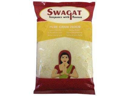 Besan - cizrnová mouka (Pure Gram Flour), SWAGAT 1kg