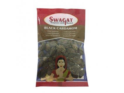 Černý kardamon (Black Cardamom), SWAGAT 50g