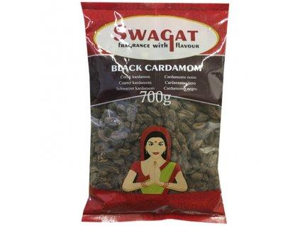 Černý kardamon (Black Cardamom), SWAGAT 700g