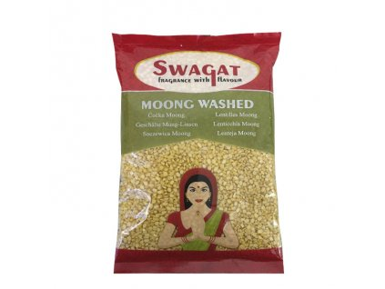 Čočka Mung loupaná (Moong Washed), SWAGAT 500g
