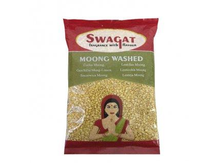 Moong Dall Washed - čočka Mung loupaná, SWAGAT 500g