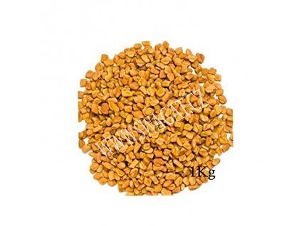 Methi - řecké seno (Fenugreek Seeds), HEERA 1Kg