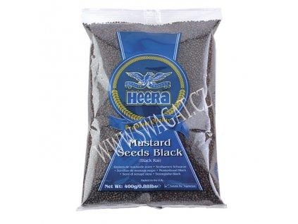 Hořčičné semínko černé, HEERA 400g
