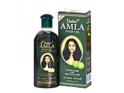 Amla vlasový olej (Amla Hair Oil), DABUR 200ml