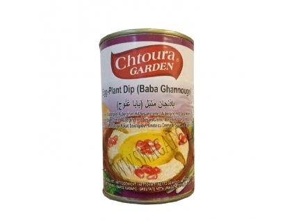 Baba Ganoush kořeněný lilkový dip (Eggplant Dip), CHTOURA GARDEN 370g
